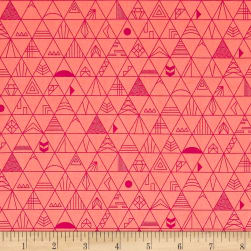 Kaufman Panache Diamond Trellis Creamsicle Fabric