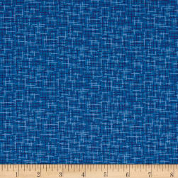 Kaufman Microlife Textures Digital Prints Plaid Blue Fabric