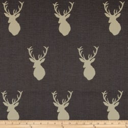 Mountain Cabin White Tail Jacquard Mount Slate