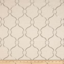 Vera Embroidered Platinum Fabric