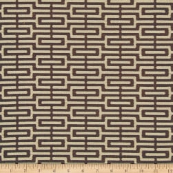 Crypton Home Emma Jacquard Chocolate Fabric