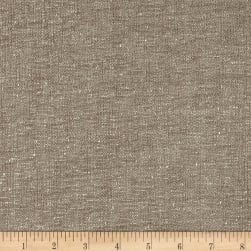 Crypton Home Benton Chenille-Faced Pewter Fabric