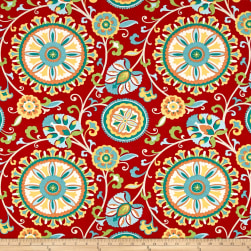 Covington Indoor/Outdoor Moonbeam Fiesta Fabric