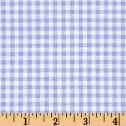 Flutter the Butterfly Gingham Check Lilac