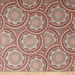 Richloom Sapphire Coral Fabric