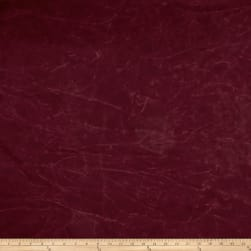 13.7 oz Waxed Army Duck Canvas Burgundy Fabric