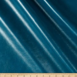 Richloom Tough Faux Leather Vinyl Teal Fabric