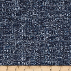 Richloom Indy Basketweave Cobalt Fabric