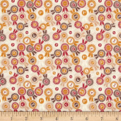 Lewis & Irene Farley Mount Rosettes Natural Fabric
