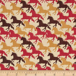 Lewis & Irene Farley Mount Gallop Natural Fabric
