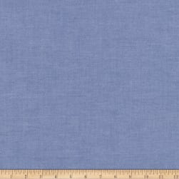 Kaufman Ivy Pinpoint Oxford Indigo Fabric