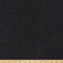 Kaufman Limerick 100% Linen Black Fabric