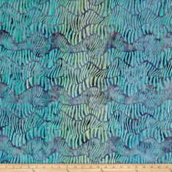 Kaufman Batiks Wavelengths Hash Stripe Cornflower