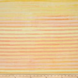 Kaufman Batiks Elementals Stripes Sunshine