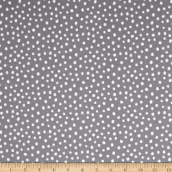 Kaufman Penned Pals Dots Grey