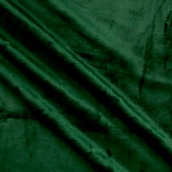 Shannon Minky Solid Cuddle 3 Evergreen Fabric