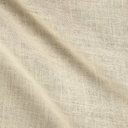 Premier Prints Burlap White Fabric
