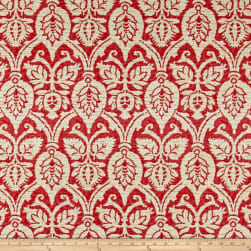 Waverly Flaneurs Rouge Fabric