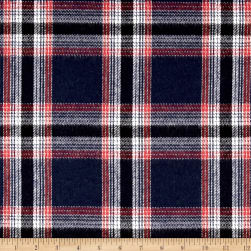 Kaufman Durango Flannel Plaid Large Red