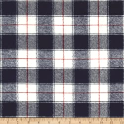 Kaufman Durango Flannel Plaid Small Red