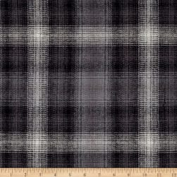 Kaufman Durango Flannel Plaid Graphite