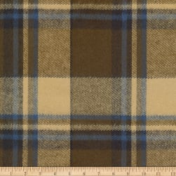 Kaufman Durango Flannel Plaid Olive Fabric