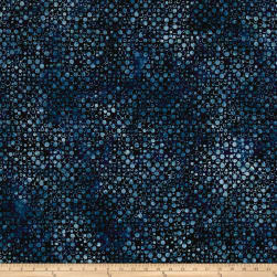 Kaufman Artisan Batiks Color Source Small Bubbles Indigo