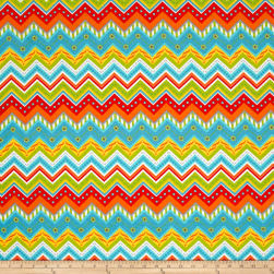 Big Splash Chevron Multi Fabric