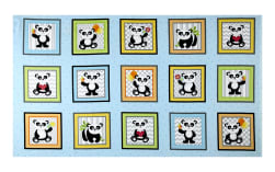 & Co. Panda-monium Flannel Panda Boxes 25.5