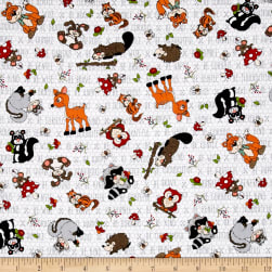 To Be Or Not To Be Tossed Forest Characters Light Gray