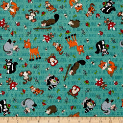 To Be Or Not To Be Tossed Forest Characters Navy