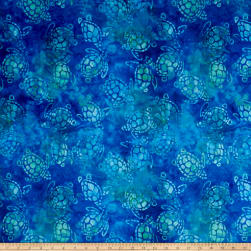 Michael Miller Minky Sea Turtles Hunter Fabric