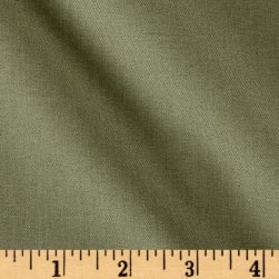 Organic Eco Twill Heather Green Fabric