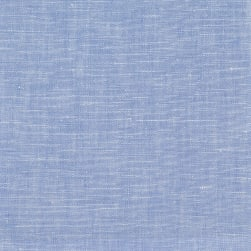 100% European Linen Powder Blue Fabric