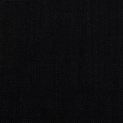100% European Linen Burlap Black