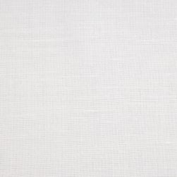 European Linen Blend White Fabric