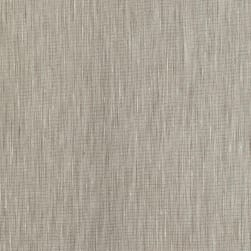 European Linen Stretch Stripe Natural Fabric