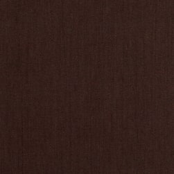 European Linen Stretch Chocolate Fabric