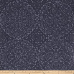Fabricut 50040w Adulara Wallpaper Navy 02 (Double Roll)