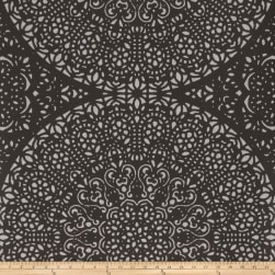 Fabricut 50048w Bohemia Chic Wallpaper Onyx 01 (Double