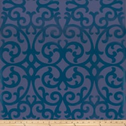 Fabricut 50066w Faribault Wallpaper Marine 02 (Double Roll)
