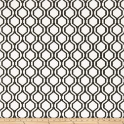 Fabricut 50078w Keys Geo Wallpaper Onyx 01 (Double