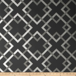Fabricut 50174w Carrefours Wallpaper Midnight 06 (Double Roll)