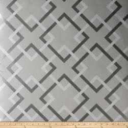 Fabricut 50174w Carrefours Wallpaper French Grey 04 (Double
