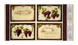 Uncorked Placemat Panel Multi Fabric