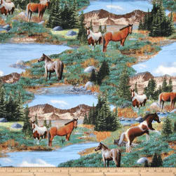 Roaming Wild Scenic Multi Fabric