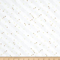 Tres Graphique Stripe & Dot Light Gray Fabric