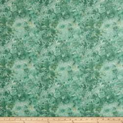 Essentials Flannel Cosmos Blue/Green Fabric