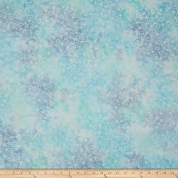 Wilmington Batiks Delicate Scroll Light Blue Fabric
