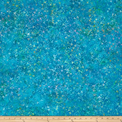 Wilmington Batiks Delicate Scroll Teal
